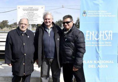Mario Dell Olio: Esta obra marca un antes y un después en el saneamiento de Mar del Plata