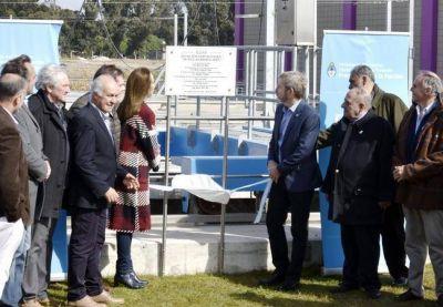Inauguraron, con la presencia de la Gobernadora, la Estación Depuradora de Aguas Residuales