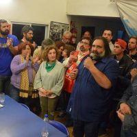 Con la presencia de Baradel y Calamante, la CTA de los Trabajadores presentó lista para las elecciones