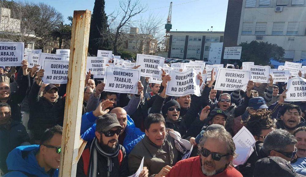 Trabajadores del Astillero Río Santiago vuelven a movilizarse