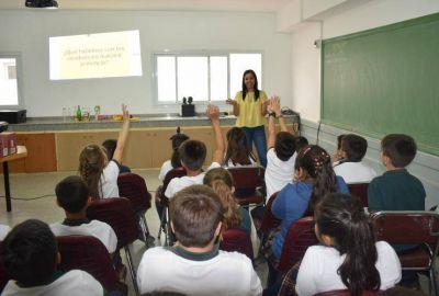 """Más de 9 mil alumnos aprendieron a separar los residuos con el Plan """"San Luis en tus Manos"""""""