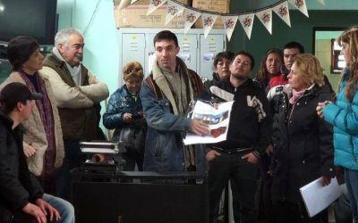 """Pusieron en marcha el programa """"Cura Brochero"""", talleres para la gente del basural"""