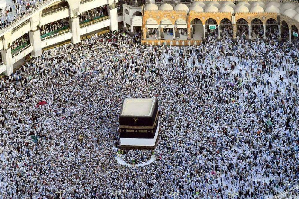 Dos millones de islámicos llegan en peregrinación a La Meca