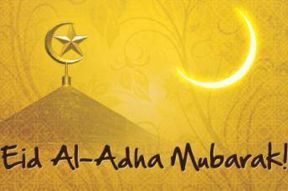 Los musulmanes celebran la fiesta del sacrificio