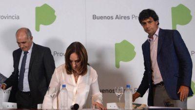 Vidal buscará afectar el 100% del Fondo Educativo a obras en las escuelas y habrá resistencia de los intendentes