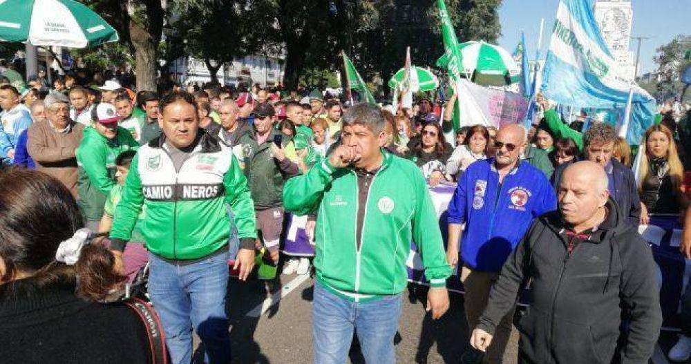 """Pablo Moyano de alta: """"La única lucha que se pierde es la que se abandona"""""""