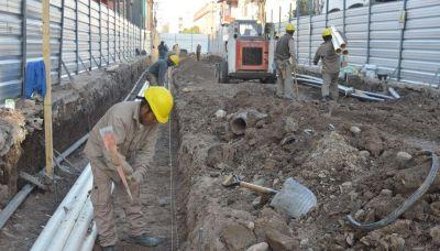 Avanza la segunda etapa de las obras del área centro