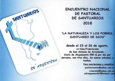 Ultiman detalles para el Encuentro Nacional de Pastoral de Santuarios