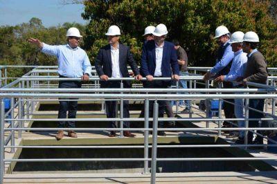 Planta de agua potable para Ituzaingó: avanzan tareas y cumplimiento de la EBY