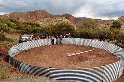 Inauguran obras hídricas para mejorar la dotación de agua en el Angosto
