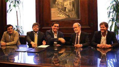 La Provincia y el Banco Nación firmaron convenio para ampliar crédito a Pymes