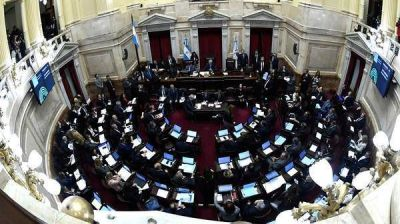 El Senado aprobó el proyecto de extinción de dominio y vuelve a Diputados