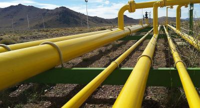 Se reanuda la exportación de gas a Chile