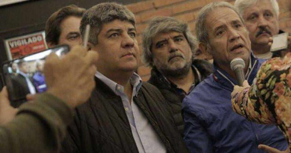 Moyano y Palazzo insisten con el cambio de conducción de la CGT y un plan de lucha contra Macri