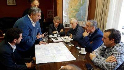 Analizaron la situación de la planta de osmosis inversa