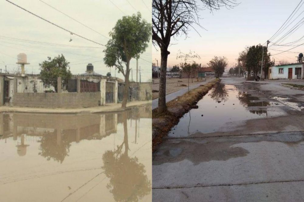Aguas del Norte responsabilizó a los vecinos por el derrame cloacal