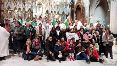 En Luján, se reunieron los representantes de la Pastoral de la Salud