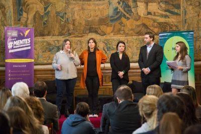 Lanzaron la 3º edición del programa Mentes Transformadoras