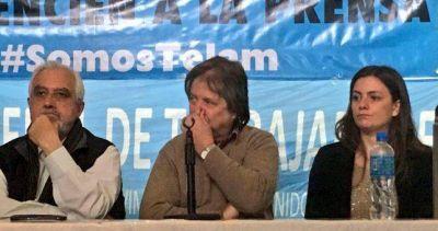 """La Corriente respaldó a los despedidos de Telam: """"Tenemos el deber que defender a los trabajadores y a los jubilados"""""""