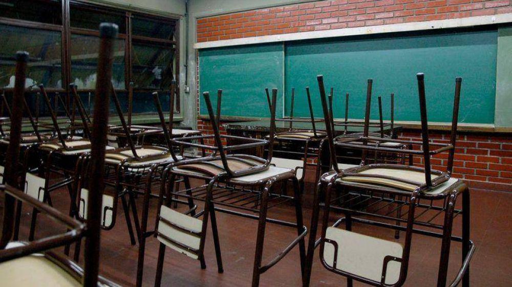 Desde el Gobierno de Vidal señalan que el paro docente es 'descomunal'