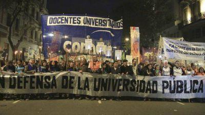 El conflicto docente universitario comenzará una semana clave: el jueves habrá una marcha