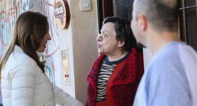 Vidal encabezó nuevo timbreo de Cambiemos en territorio bonaerense