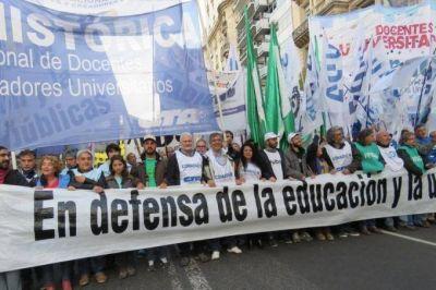 Semana clave para el conflicto docente universitario: el gobierno los recibe hoy en un clima de tensión