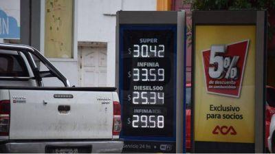 Para unificar los precios de las naftas en todo el país proponen beneficios para las Estaciones más perjudicadas