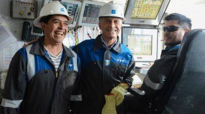 Preparan otra visita de Macri a Vaca Muerta