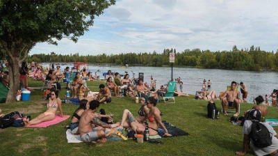 Se podrá disfrutar del río Limay aunque falten obras