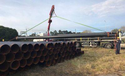 La Provincia asegura que para febrero estará terminado el Gasoducto de la Costa