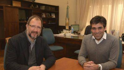 Perechodnik dialogó con Facundo López
