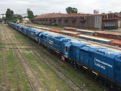 Leve crecimiento del transporte de cargas por tren