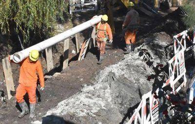 AySA anuncia el inicio de obra cloacal en Ing. Budge, Lomas de Zamora