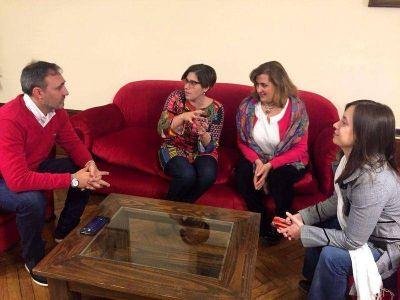 Representantes del Consejo Provincial de Educación y Trabajo visitaron el municipio