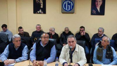 Plenario de la CGT: los grandes gremios rechazan activar un plan de lucha