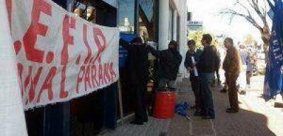 Trabajadores de la Aefip se presentaron a la Justicia y sostienen las medidas de fuerza