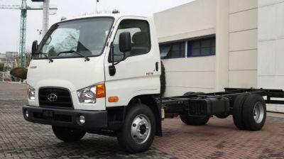 Nuevo motor para el camión liviano HD78 de Hyundai