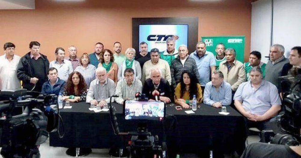 La CTA Perón se radicaliza y lanza 72 horas de paro