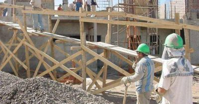 Relevan 20.000 empleos menos en la construcción