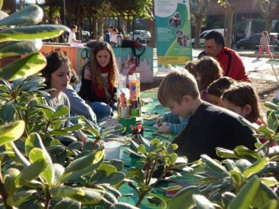 """""""Vivamos Sustentable"""" Continúa su proyecto de educación ambiental con actividades y propuestas para grandes y chicos."""