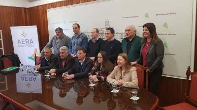 Energías renovables: Bahía y otros 7 municipios de la zona firmaron un acuerdo de colaboración y desarrollo