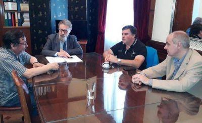 Sutiaga se reunió con el senador Luenzo por las viviendas sociales