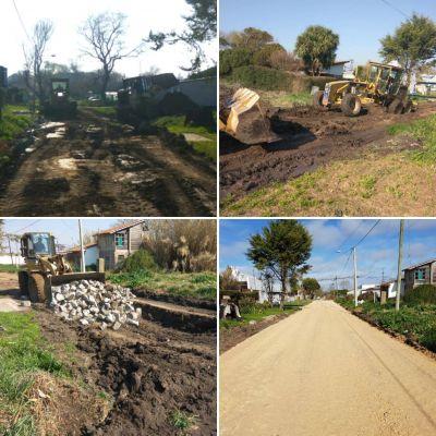 Faro Norte: mantenimiento de calles y reconstrucción de pavimentos