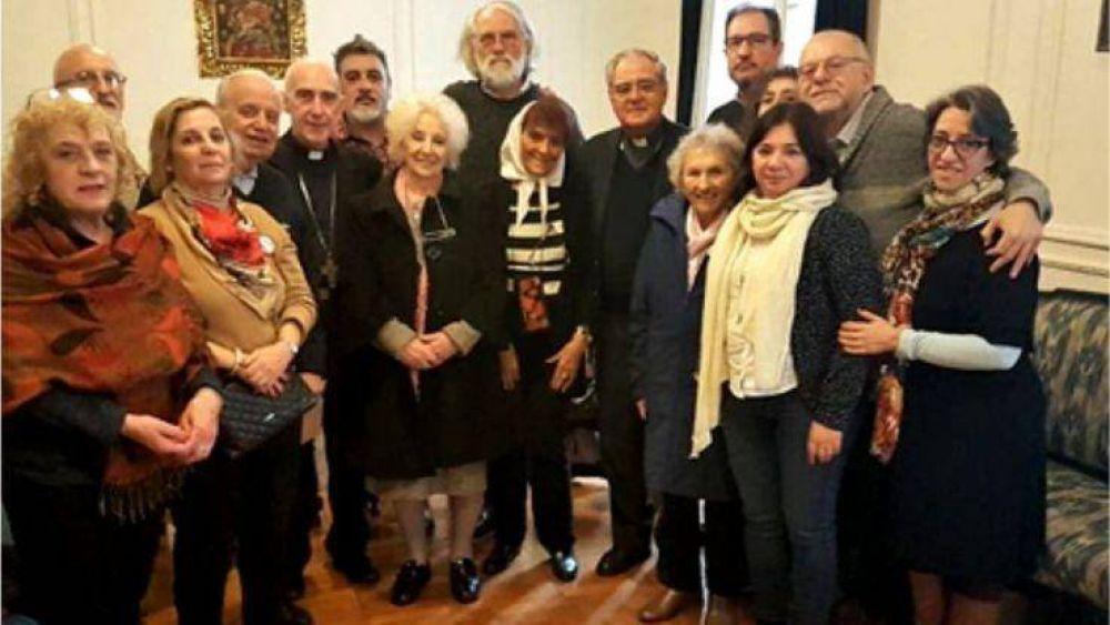 Monseñor Malfa participó de la reunión del Episcopado Argentino con organismos de Derechos Humanos