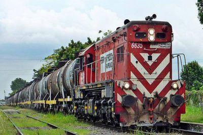Leve aumento en la carga movilizada por ferrocarriles en Argentina