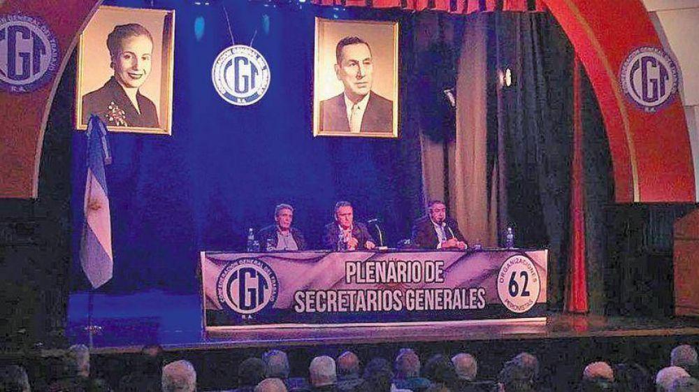 La unidad en el llamado a un paro general no aplaca las internas en el mundo sindical