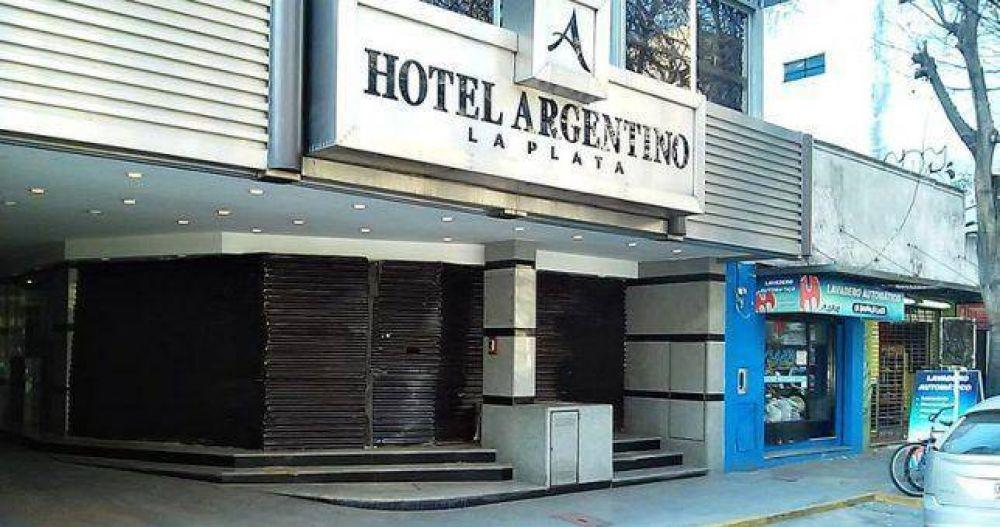 Cerró el Hotel Argentino de La Plata y despidió a todo su personal