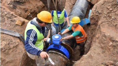 Avanza la nueva red de agua