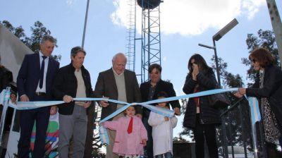 Pueblo Marini: se habilitó el sistema de abastecimiento de agua potable